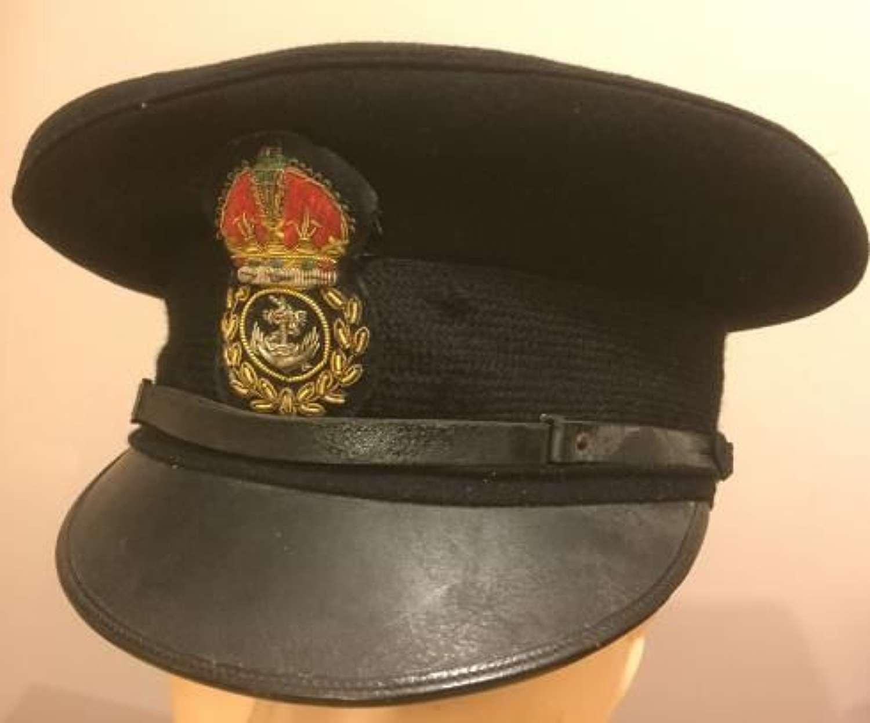 Original WW2 Fleet Air Arm / Royal Navy Chief Petty Officers Peaked Cap