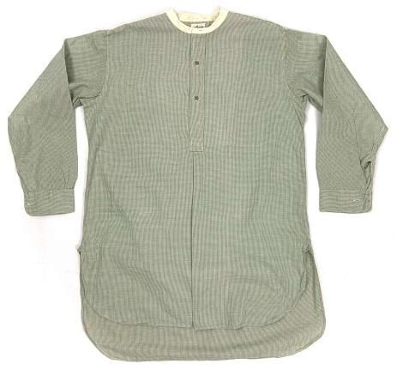 Original 1930 Men's Collarless Shirt + Collars by 'Wulcosa' - Large Si