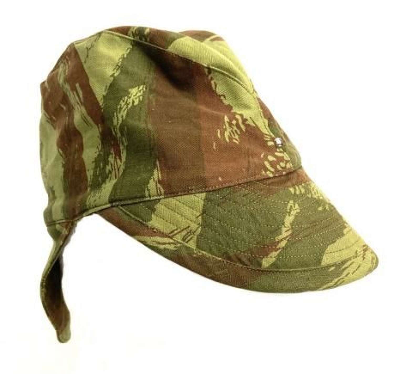 Original 1960s French Army Lizard Camo 'Bigeard' Cap