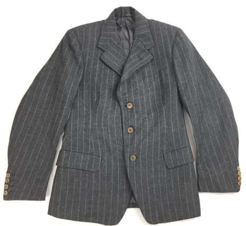 Rare Original 1944 Dated British 'Demob' Suit Jacket
