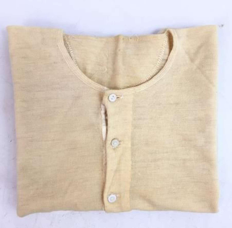 Original 1940s Men's Undershirt - Size 40