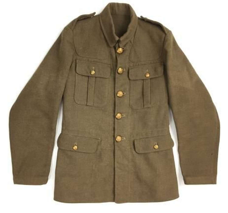 Original 1936 Dated 1918 Pattern British Army Service Dress Tunic