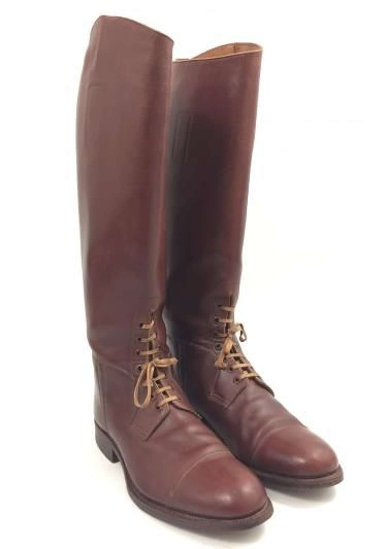 Original Great War Era British Officers Field Boots