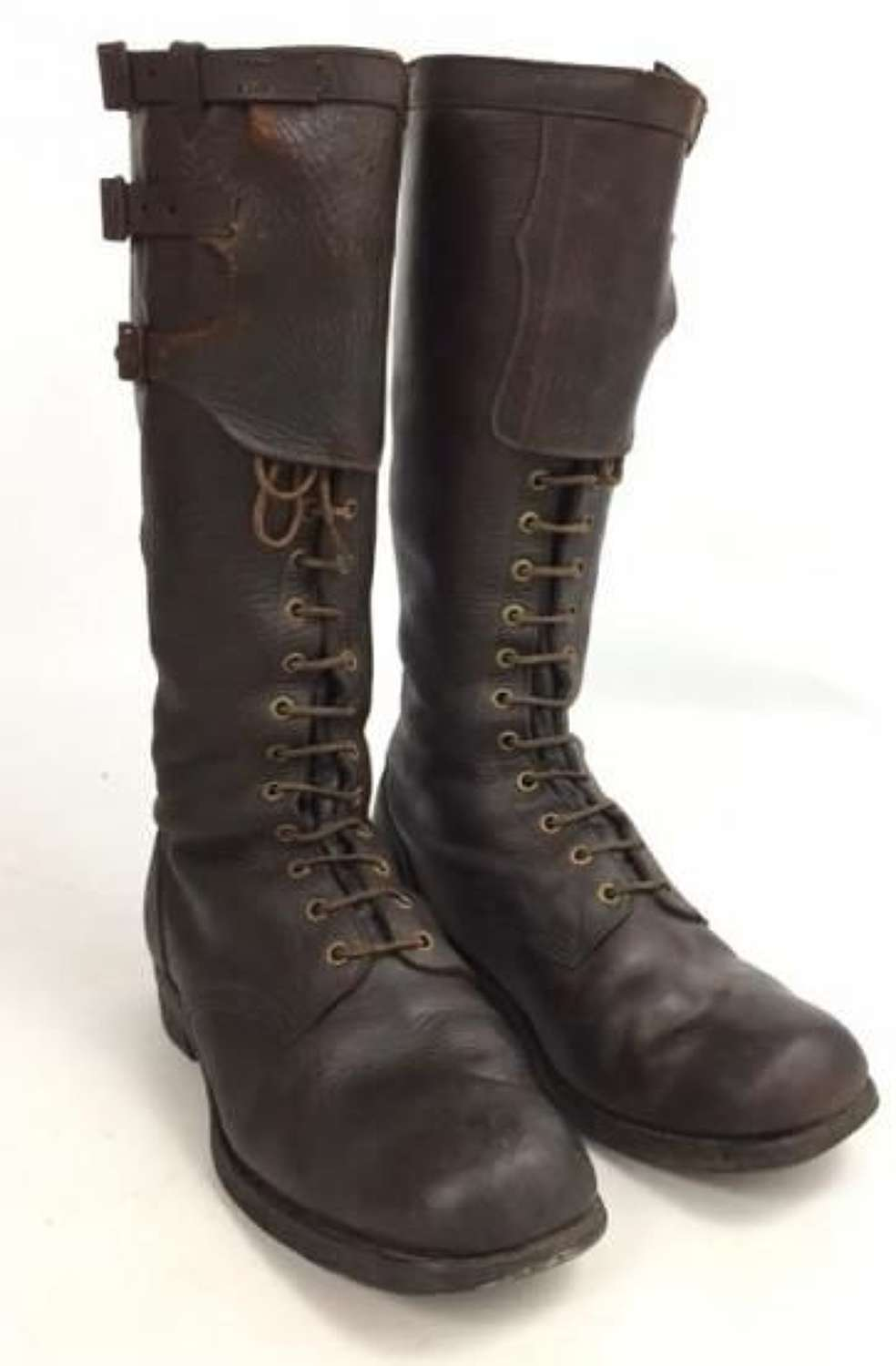 Original 1915 Dated British Army Field Boots