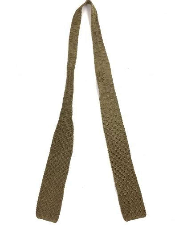 Scarce Original Great War British Army Officers Tie