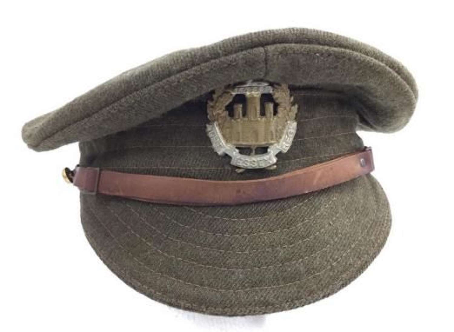 Original 1917 Dated British Army Trench Cap