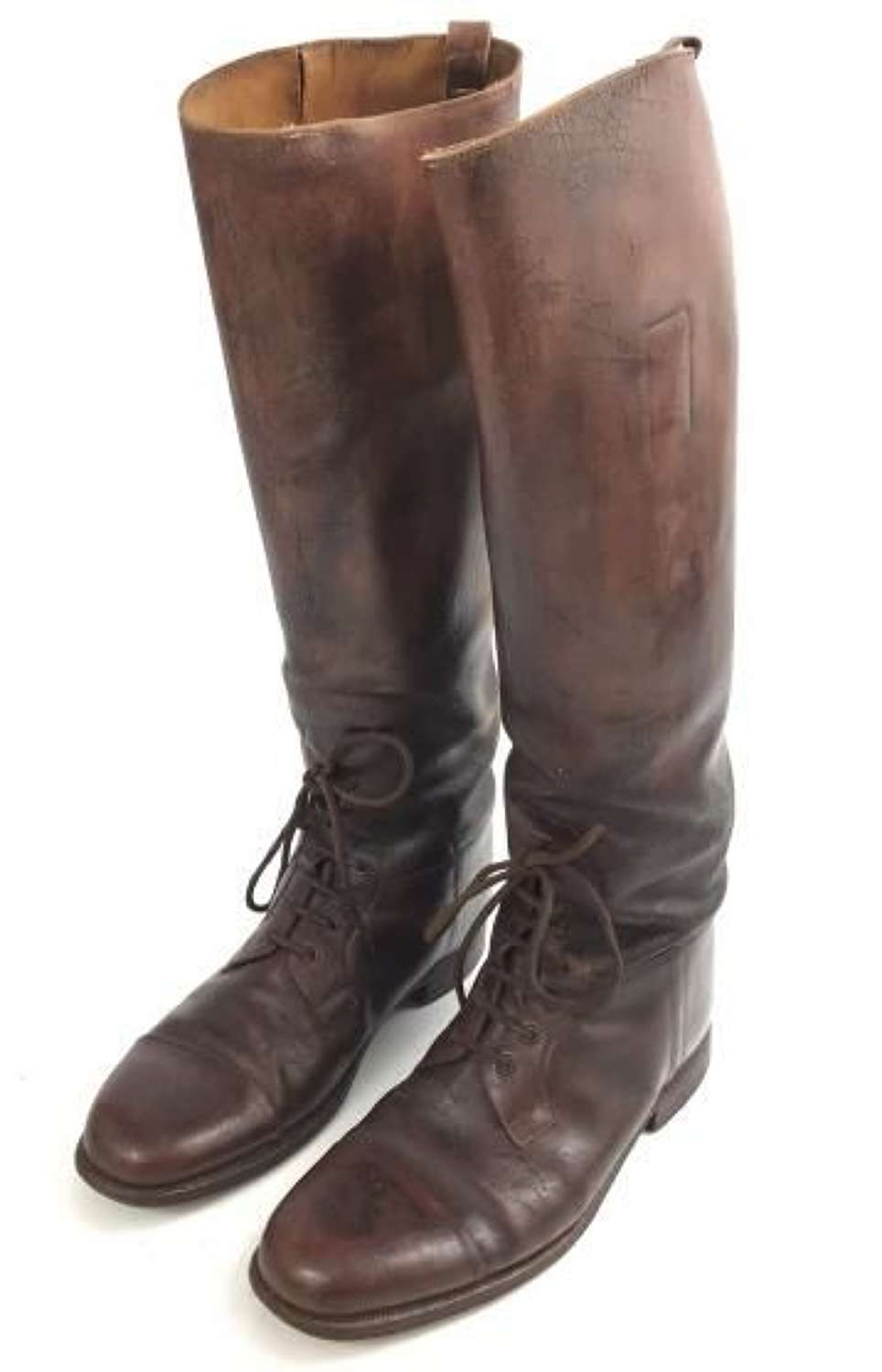 Great War Period British Army Officers Field Boots