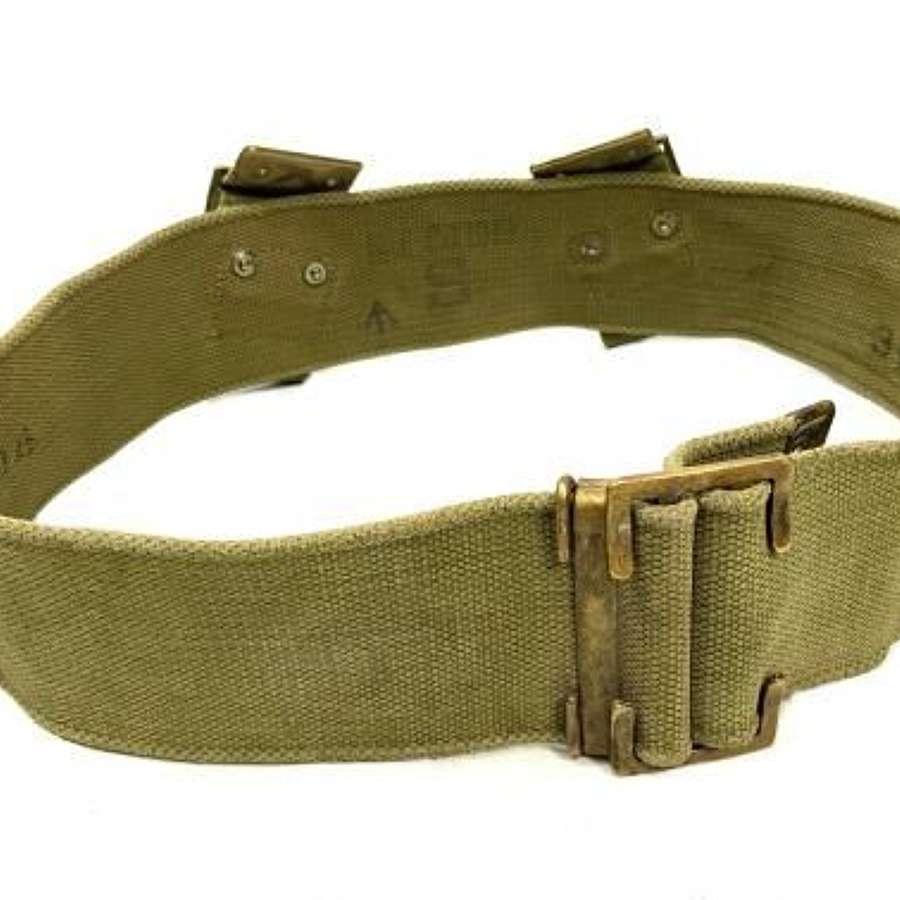 Original British Army 1908 Pattern Webbing Belt - Size S