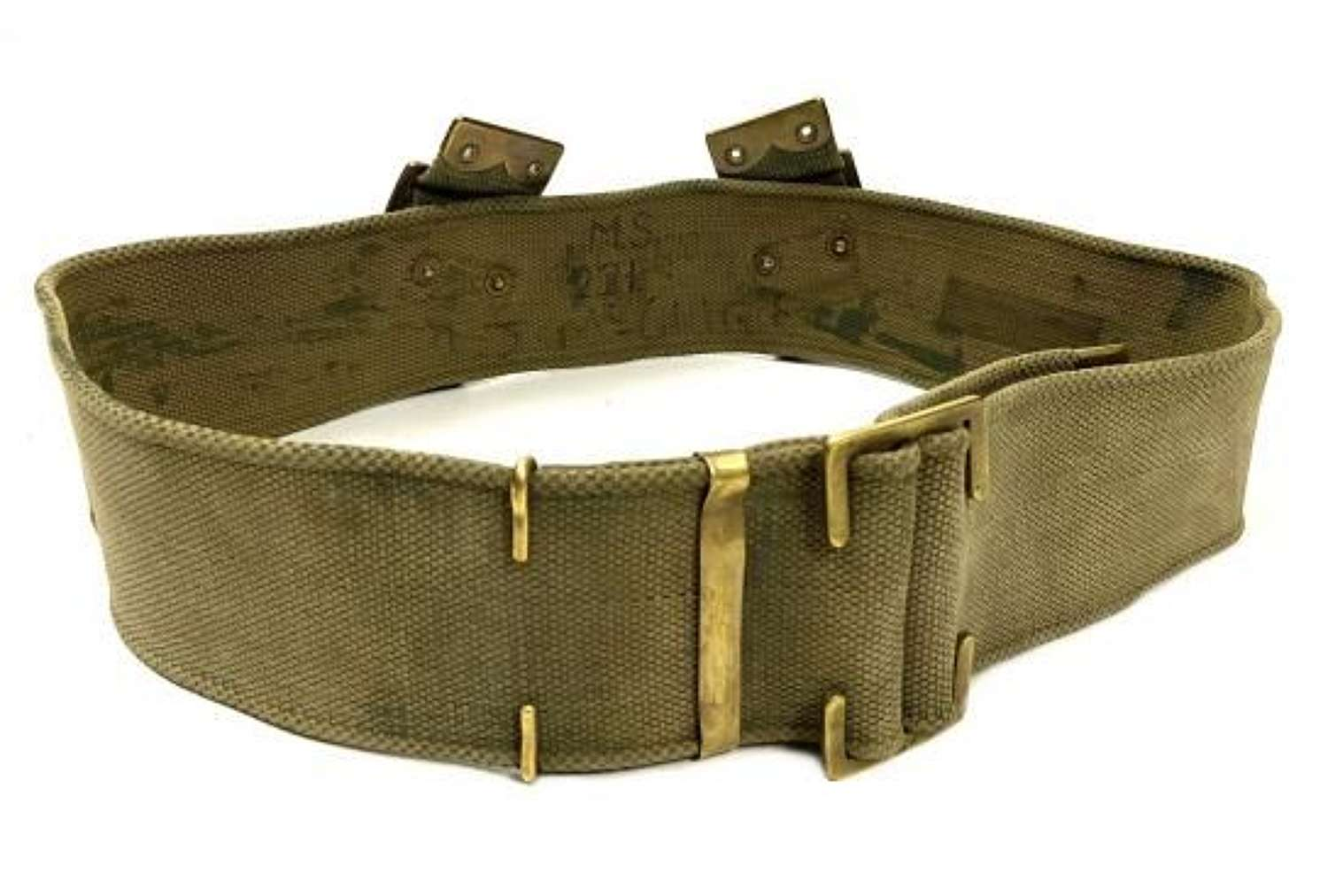 Original 1918 Dated 1908 Pattern Webbing Belt - Size M