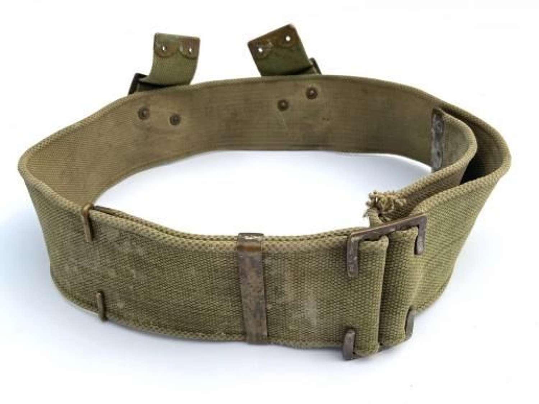 Original 1908 Pattern British Army Webbing Belt - Size L (2)