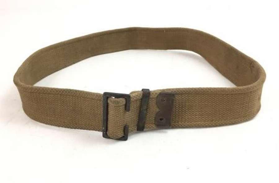 Original Great War British Army Webbing Trousers Belt