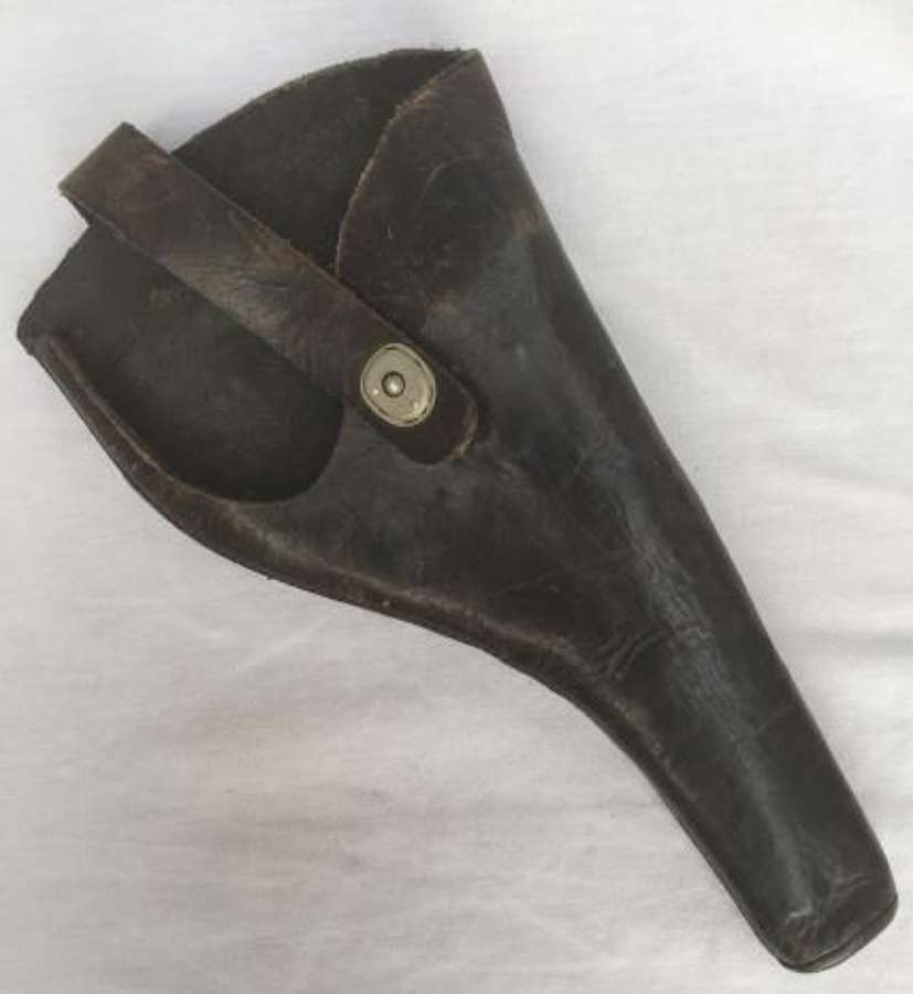 Modified Sam Brown Leather Pistol Holster