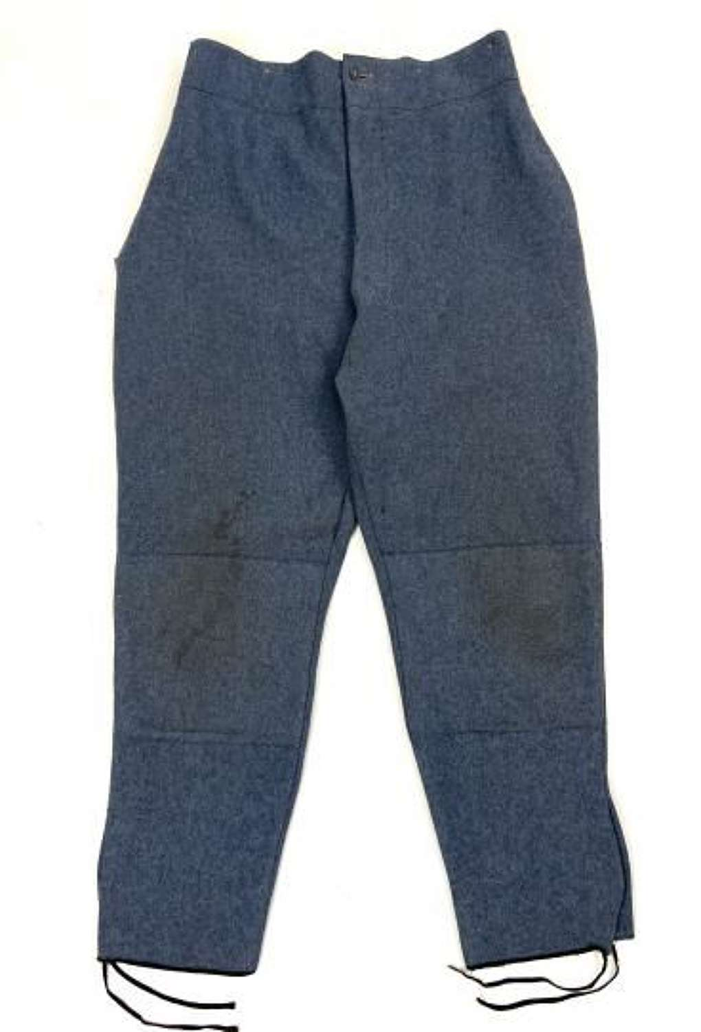Original Great War French Army Horizon Blue Enlisted Men's Trousers