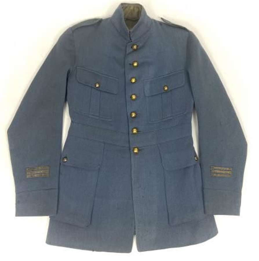 Original Great War French Army Officers Horizon Blue Tunic