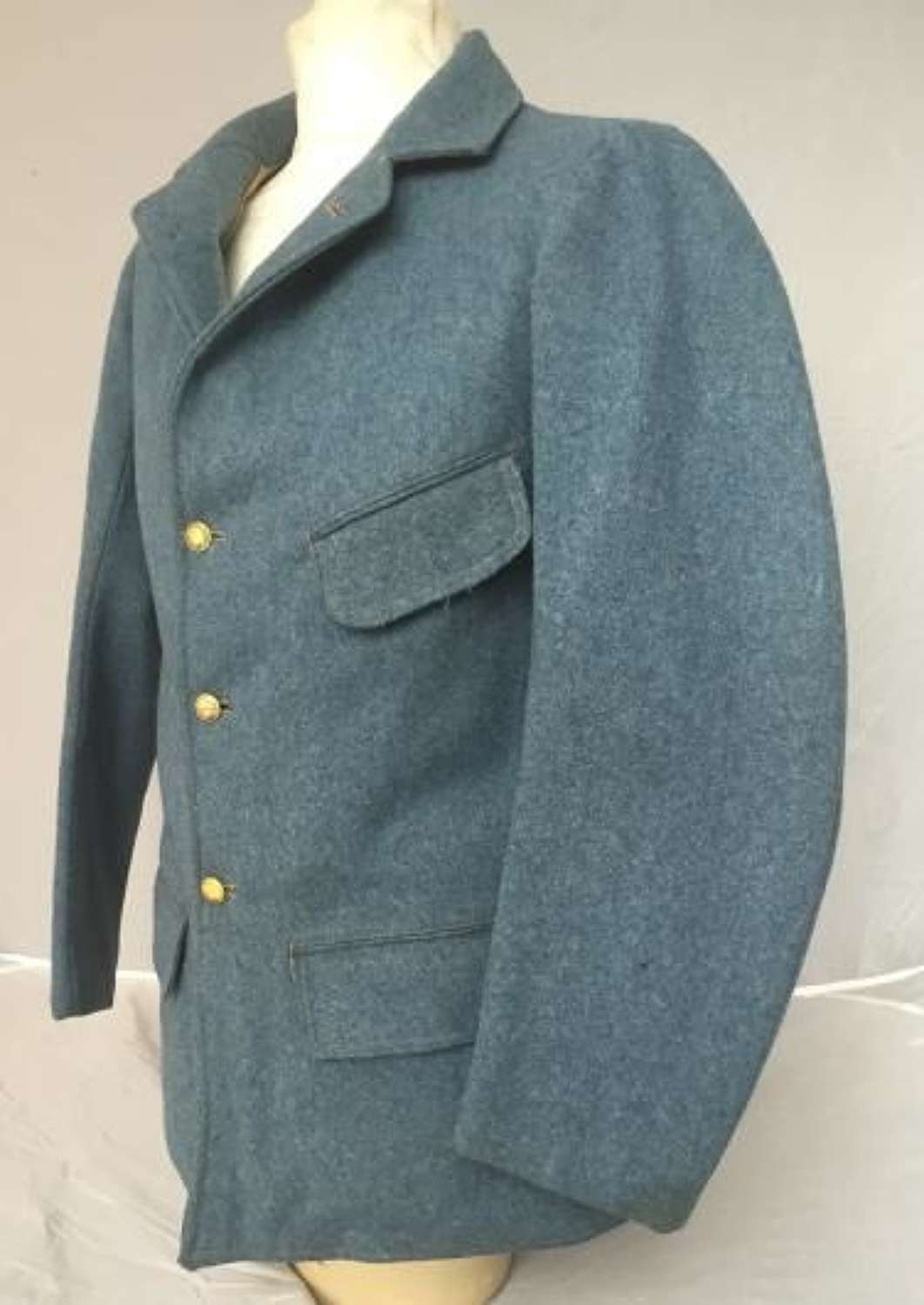 Orignal Great War French Army NCO's 'Horizon Blue' Tunic