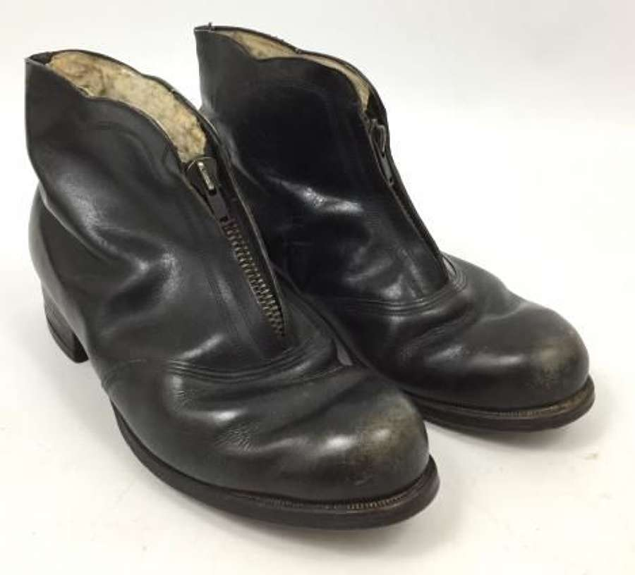 Original WW2 Luftwaffe Women's Armourer Boots