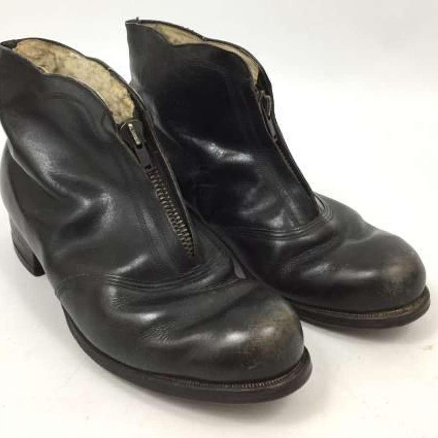 Original WW2 Luftwaffe Women's Armourer Boots