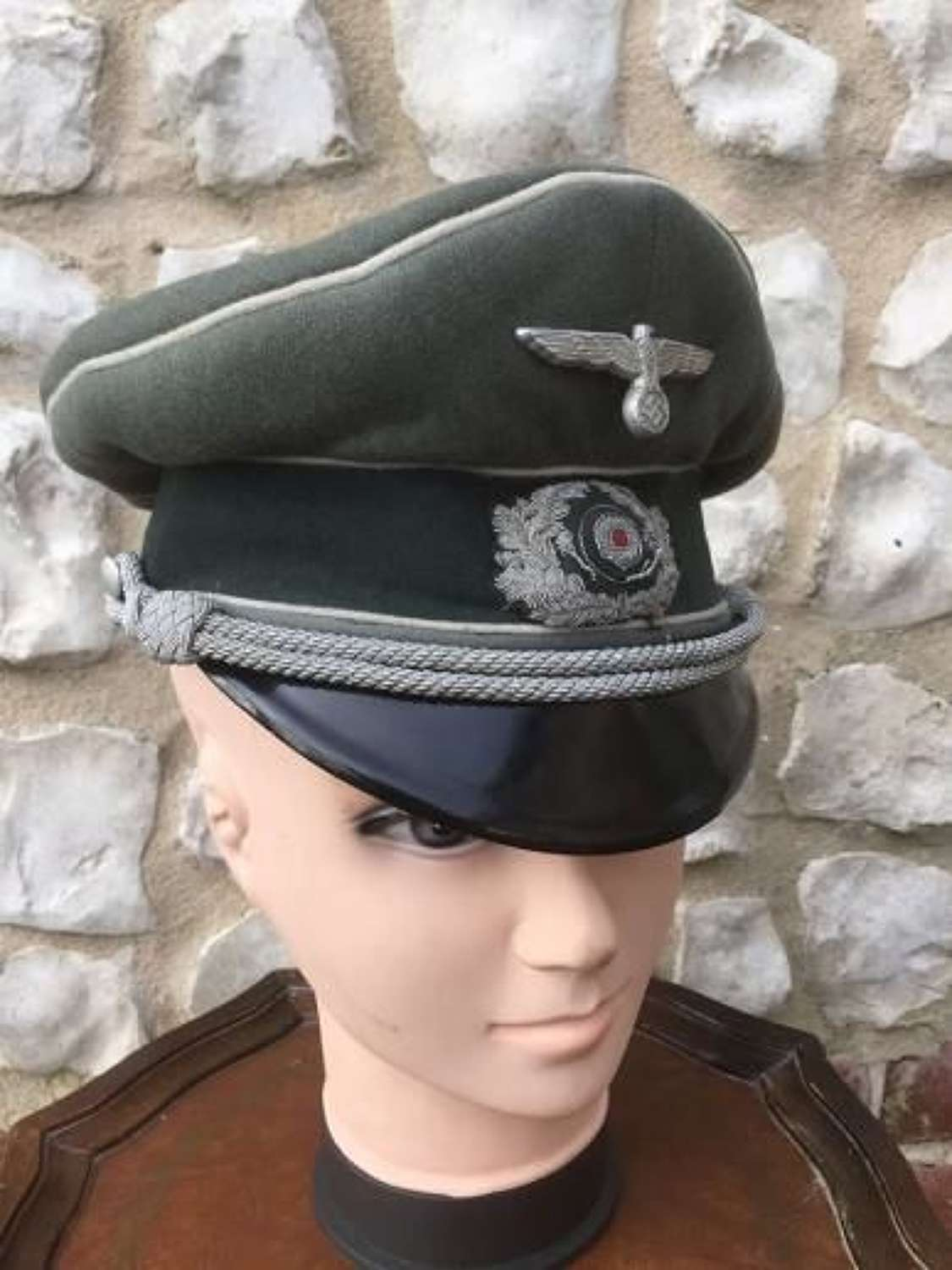 Wehrmacht Officers Peaked Cap