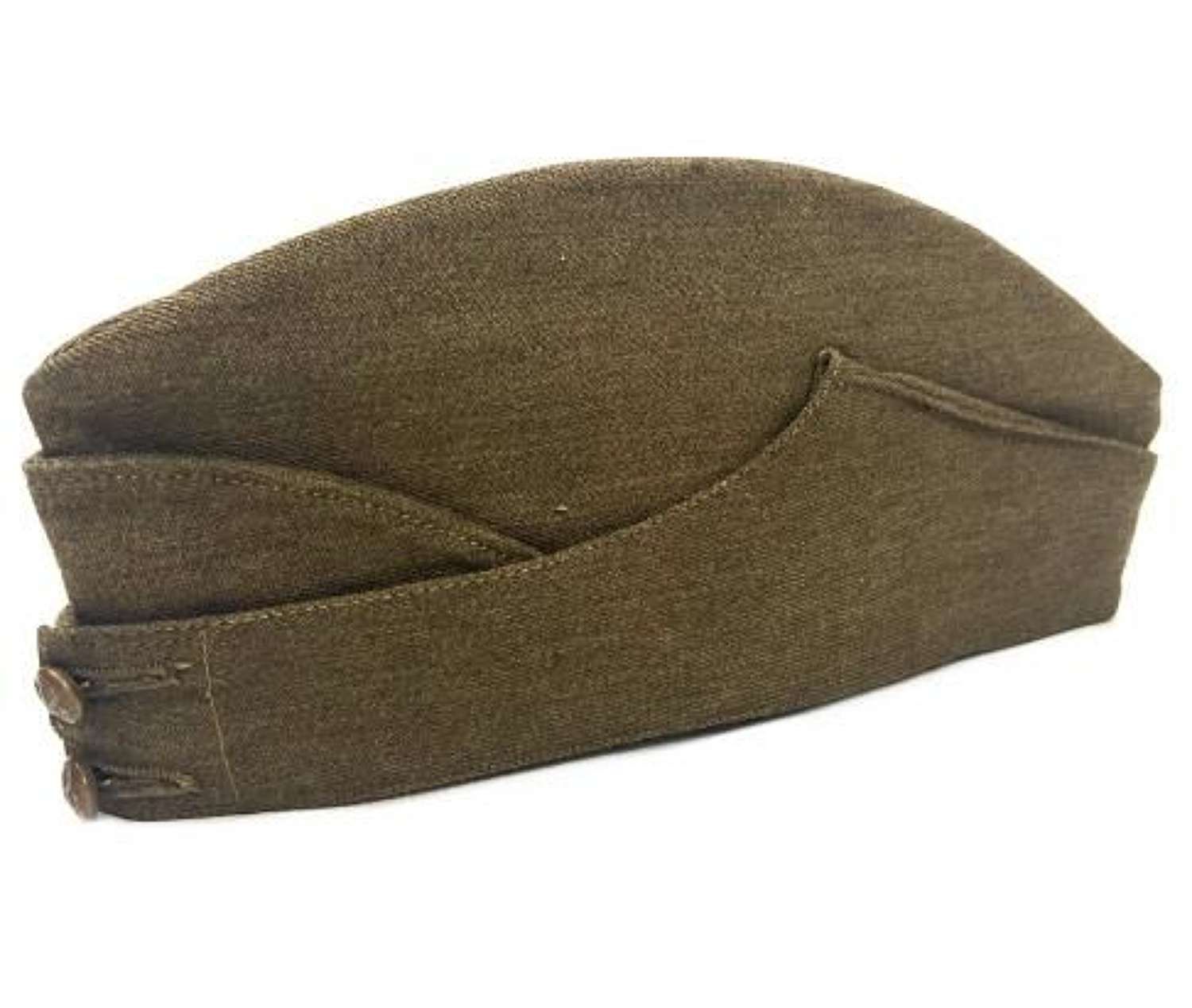 Original 1940 Dated British Army Field Service Cap - Size 7