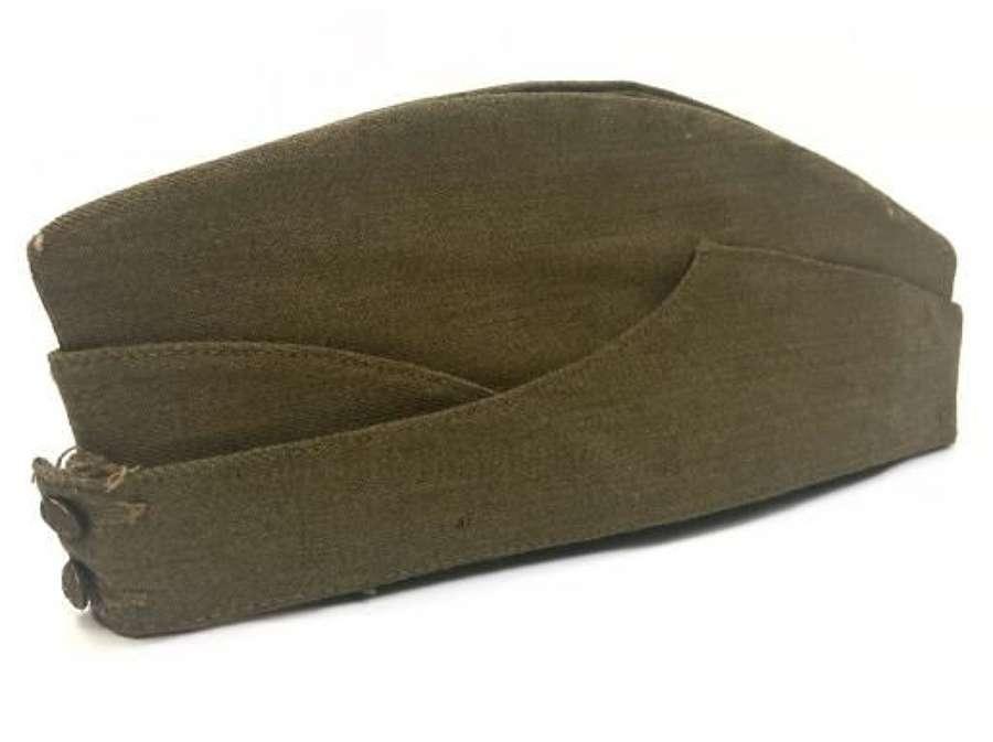 Original WW2 British Army Forage Cap - Size 7 1/2