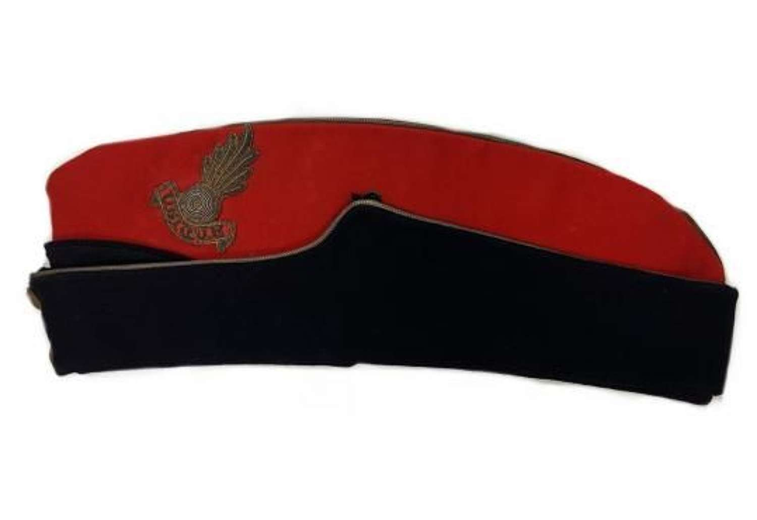 Original WW2 Royal Artillery Officers Coloured Field Service Cap