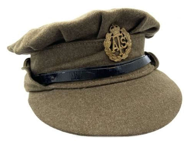 Original 1943 Dated ATS Peaked Cap