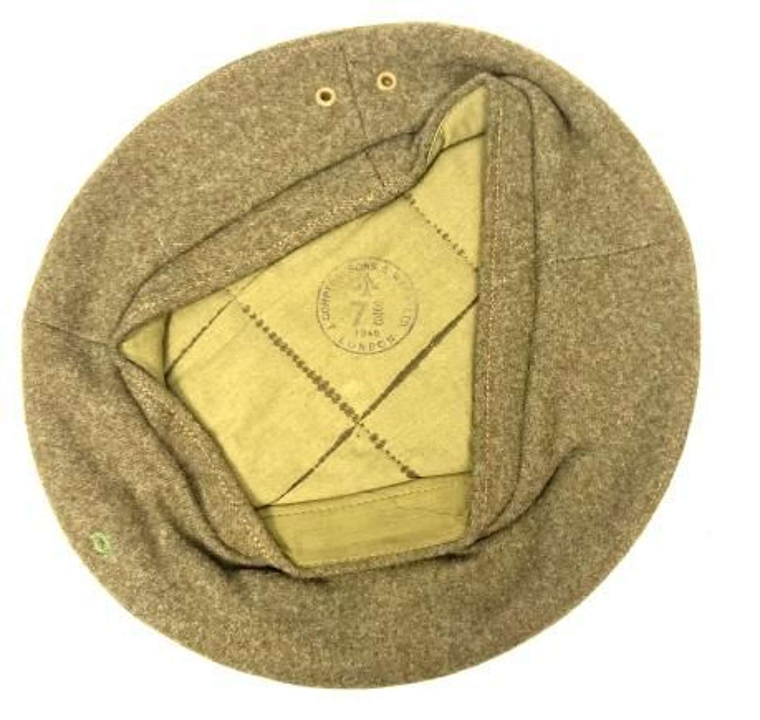Original 1945 Dated British Army General Service Beret - Size 7 3/8
