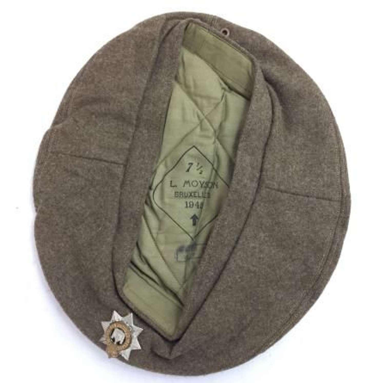 Original 1945 Dated British Army Beret