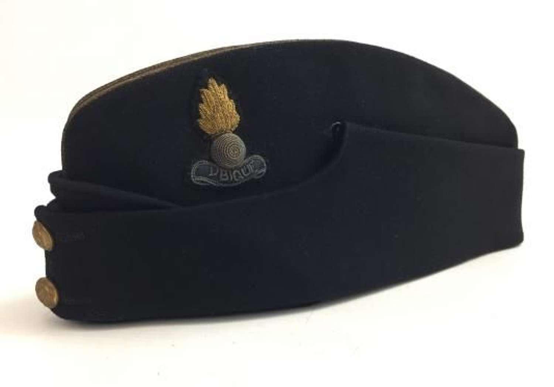 Original WW2 Royal Engineers Officers Coloured Side Cap