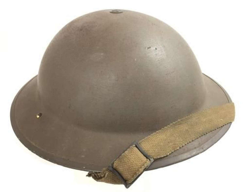 Scarce Original 1938 Dated British Army MKII Steel Helmet - BEF