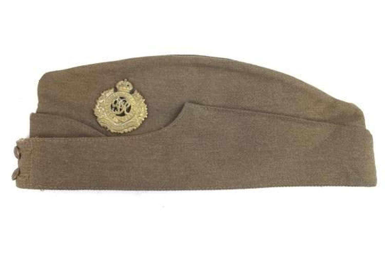 Original WW2 Royal Canadian Engineers Field Service Cap