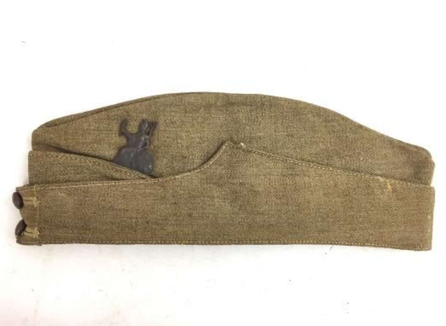 Original 1940 Dated Royal Norfolk Home Guard Officers Field Service Ca