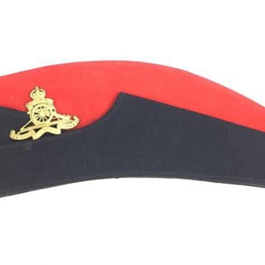 Original Inter-War Royal Artillery Coloured Field Service Cap