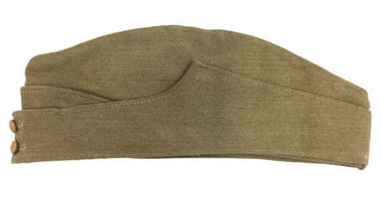 Original WW2 British Army OR Forage Cap - Size 7