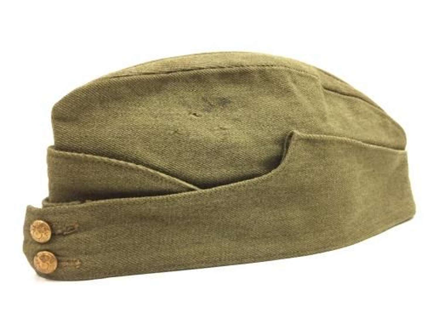 Original 1942 Dated Canadian Made Other Ranks forage Cap - Size 7 1/8