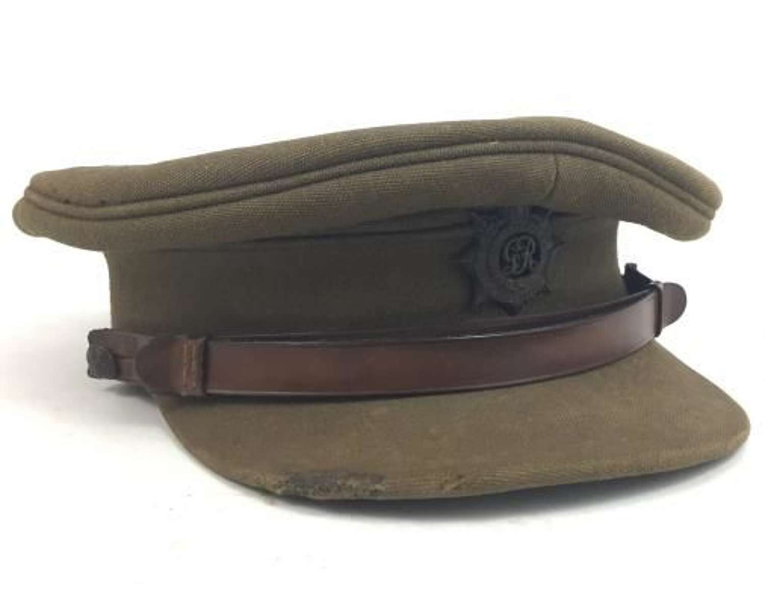 Early WW2 Royal Army Service Corps Officers Service Dress Cap