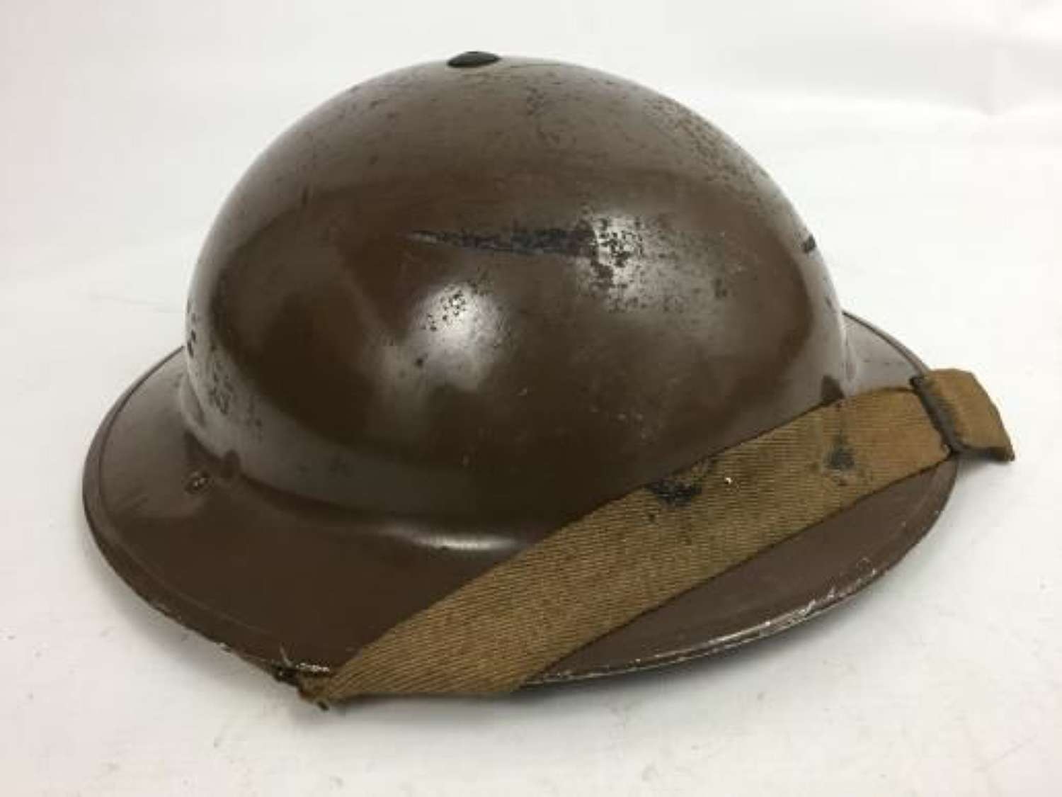 Original 1940 Dated British Army MKII Steel Helmet with 1939 Dated Liner