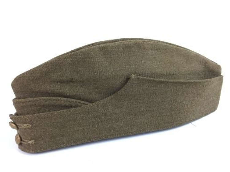 Original WW2 British Army Field Service Cap - Size 6 7/8