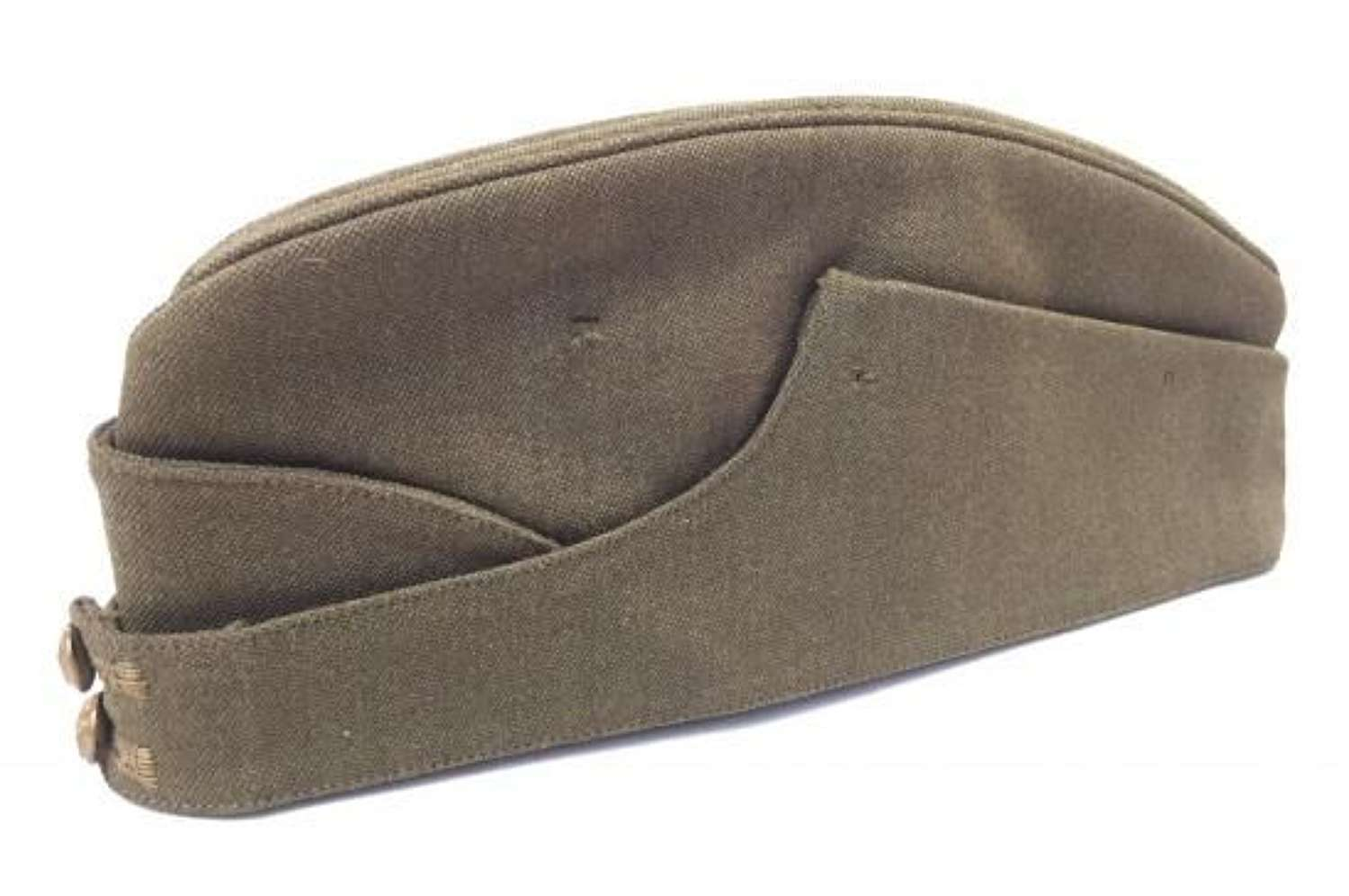 Original WW2 Period British Army Officers Cap By 'Tres & Co'