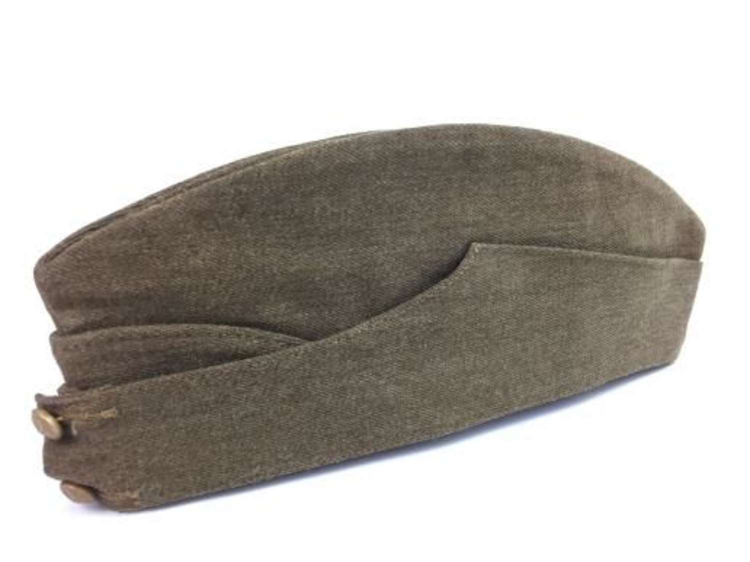 1940 Dated British Army Field Service Cap - Size 6 5/8