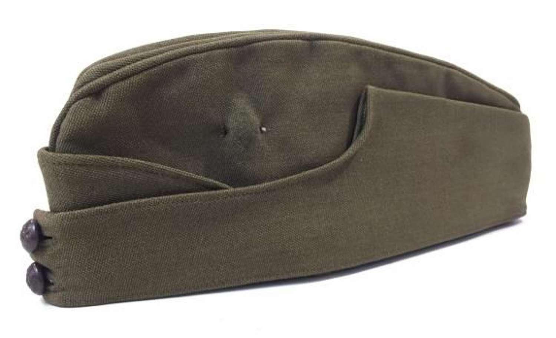Original WW2 British Army Officers FS Cap - Size 7 1/8