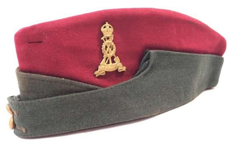 Original WW2 Royal Pioneer Corps (Labour) Coloured Side Cap