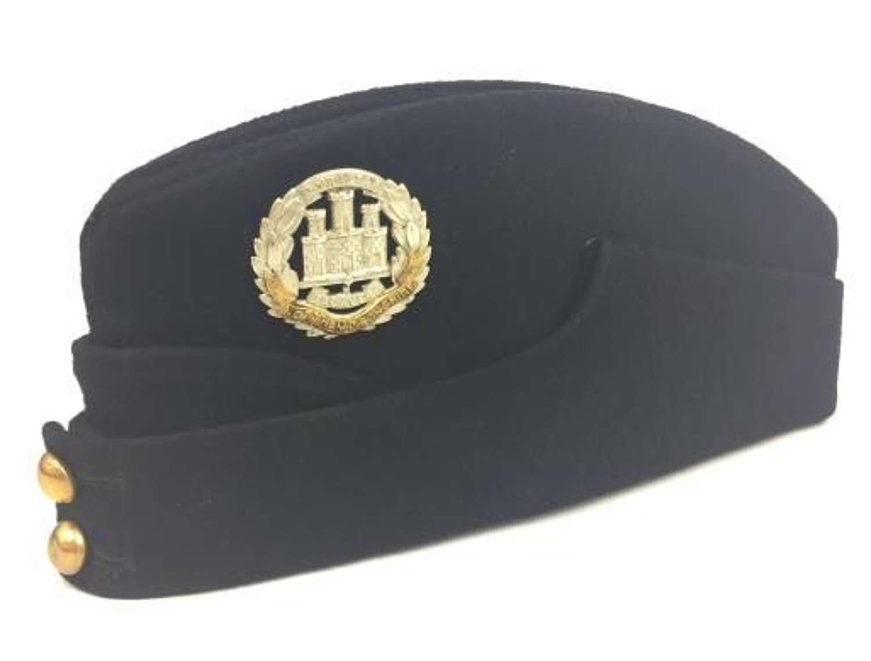 Original WW2 Northamptonshire Regiment Coloured Field Service Cap