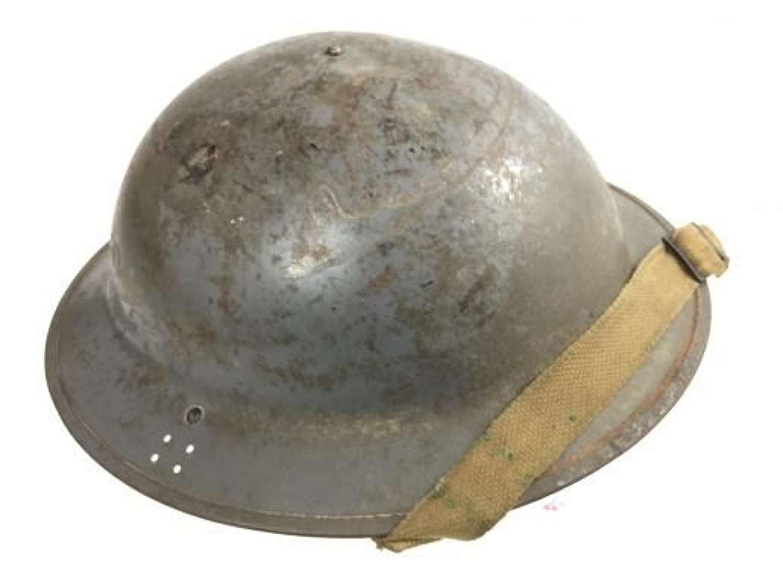 1940 Dated MKII Number 2D Steel Helmet