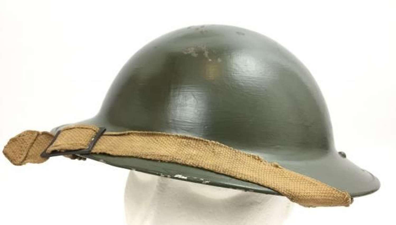 1939 Dated British Army MK II Steel Helmet With Early Liner - BEF