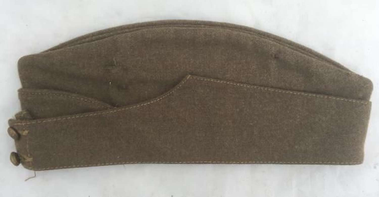 Original WW2 British Army Forage Cap - New Zealand Manufacture