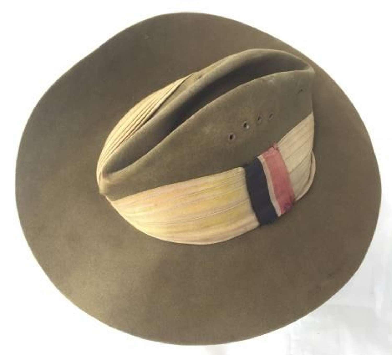 1944 Dated RAF / RAAF Slouch Hat