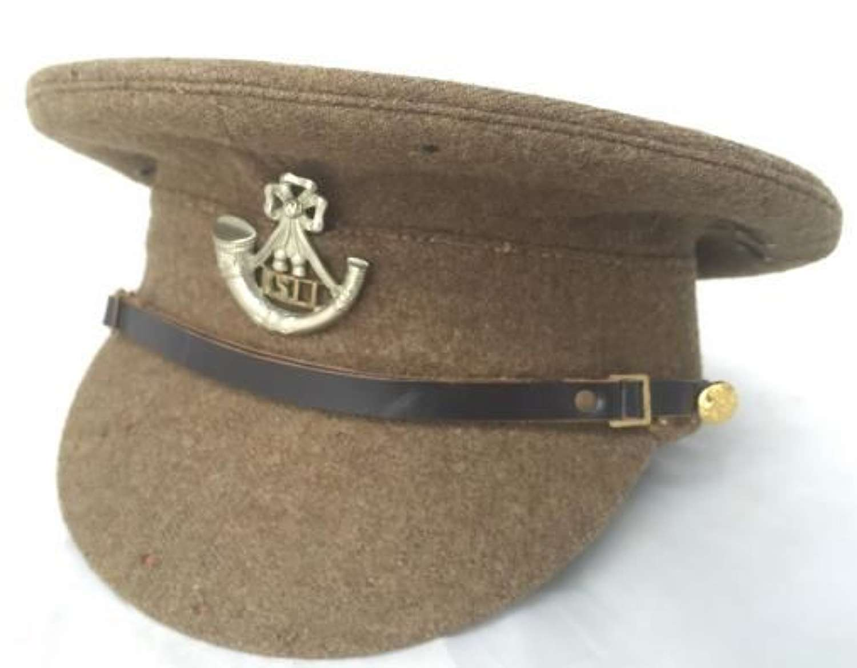 Original 1922 Pattern Service Dress Cap With KSLI Cap Badge