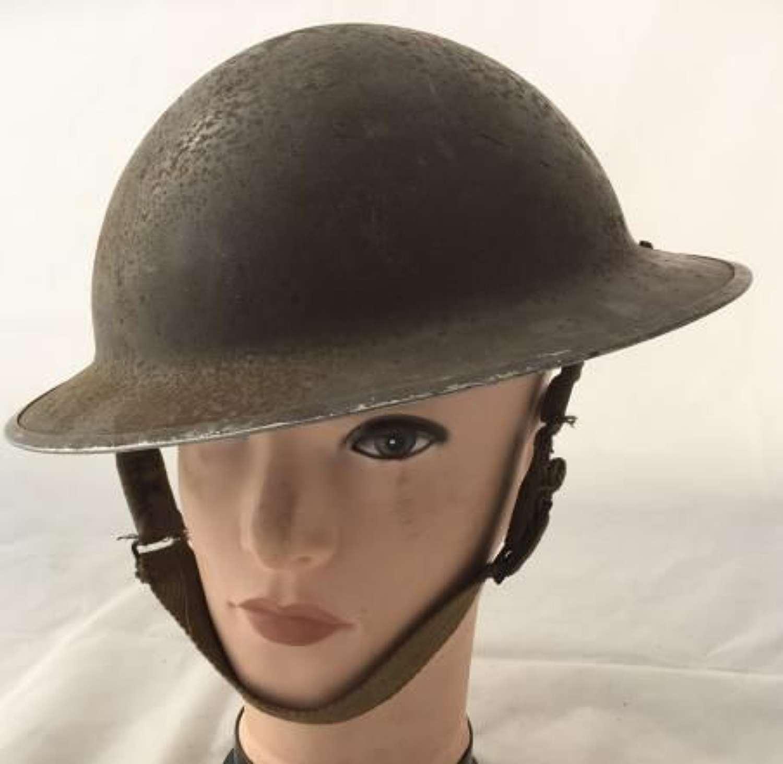 1939 Dated British Army MK II Steel Helmet