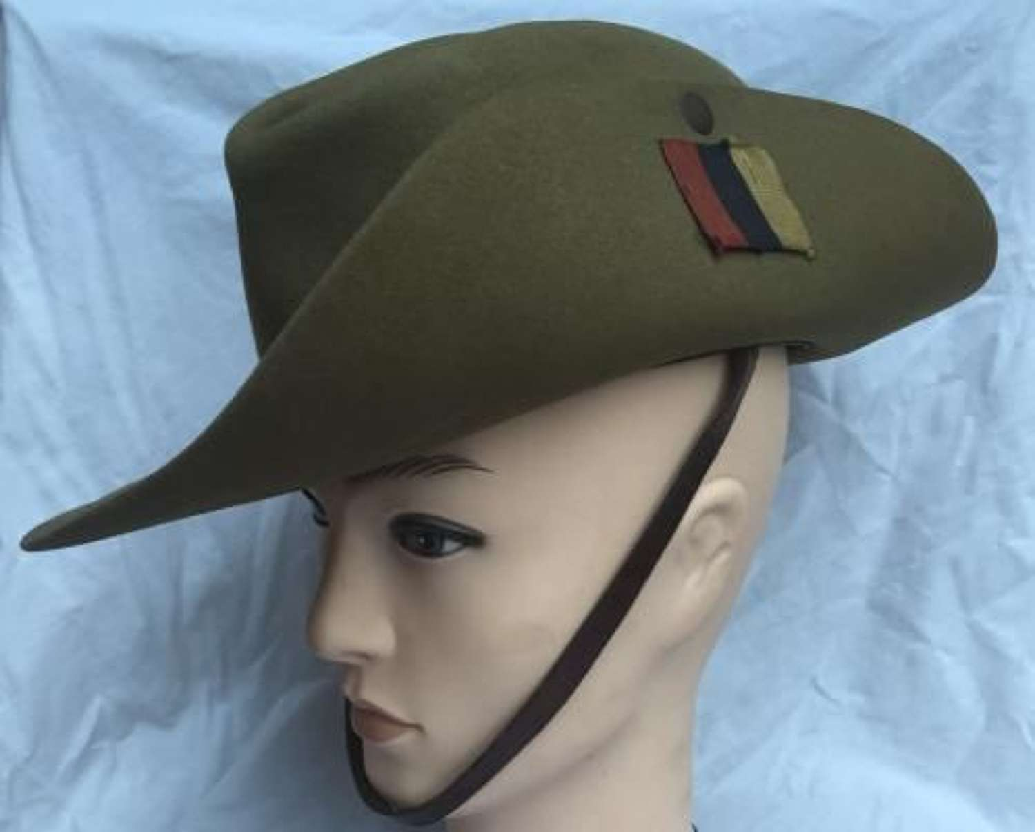 1942 Dated Slouch Hat with REME Flash